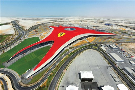 Парк аттракционов Ferrari World